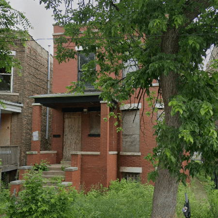 distressed vacant property